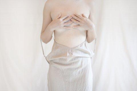 Nude portrait.