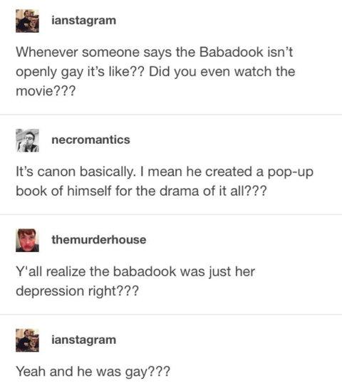 babadook tumblr