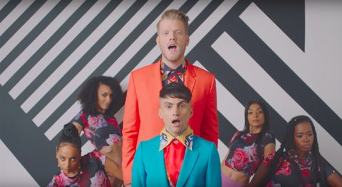 Gay Duo Superfruit Serves Fantasy Freshness In
