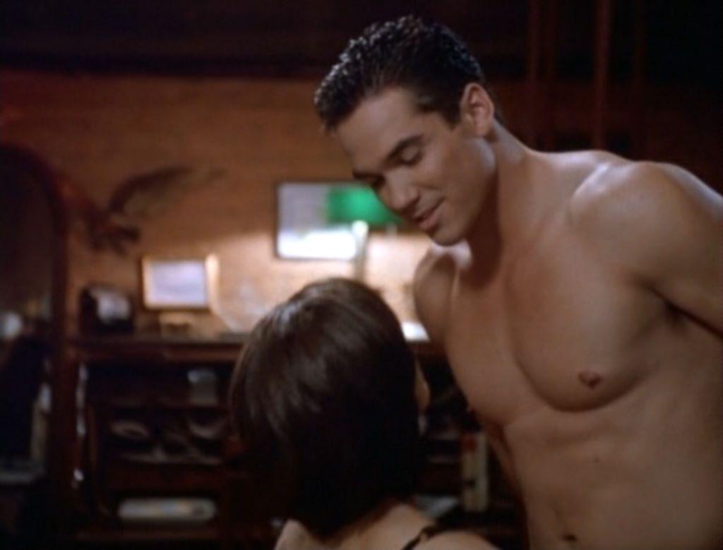 cain superman shirtless Dean
