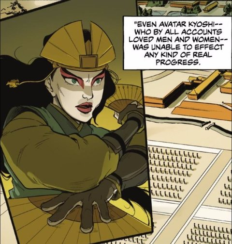 "The Last Airbender Avatar Kyoshi: ""Legend Of Korra"" Comic Book Confirms What We All Knew"