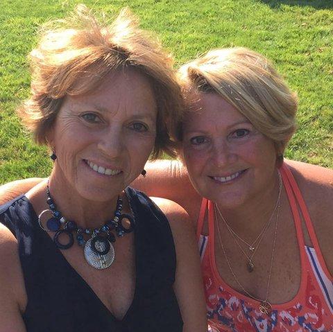 Lesbian mother daughter friend