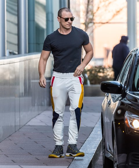 Professor SeX: James McAvoy Got Swole And We Can't Handle