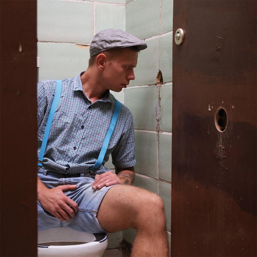 Public toilet gay sex