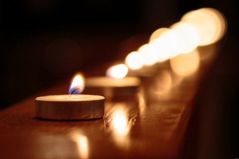 candles remembrance