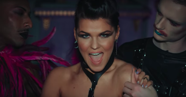 Lesbian video song