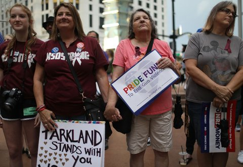 Parkland Survivors Pulse Rally