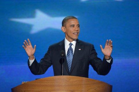 Obama 2012 DNC Charlotte