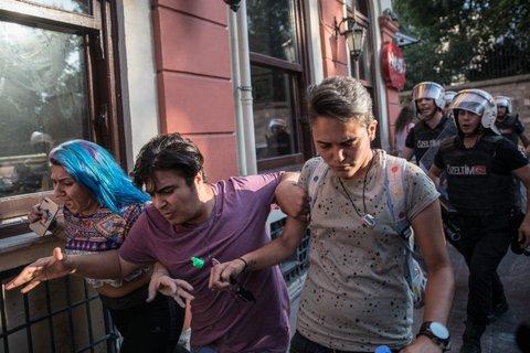 Istanbul Pride police