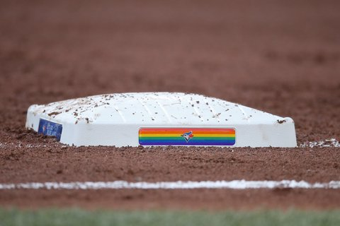 Toronto Blue Jays Pride night