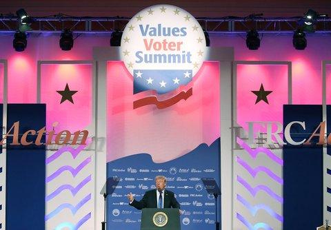 trump values voter summit