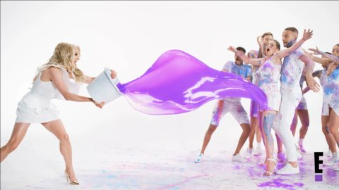 watch courtney act bring some color to the first promo for