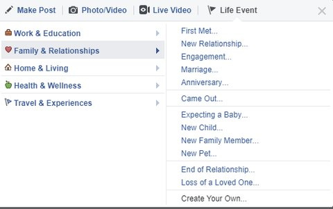 Facebook came out feature