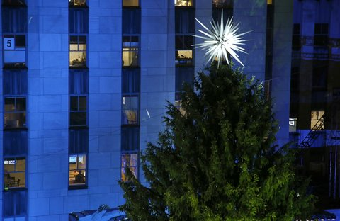This Year's Rockefeller Center Tree Just Made Queer Christmas History | NewNowNext