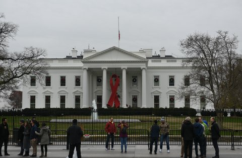 hiv aids white house