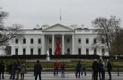 hiv aids white house