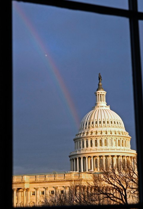 rainbow capitol building