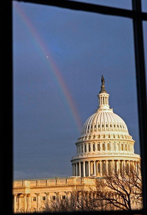 rainbow capitol building