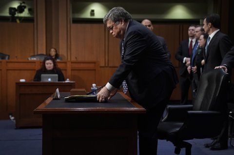William Barr confirmation hearing