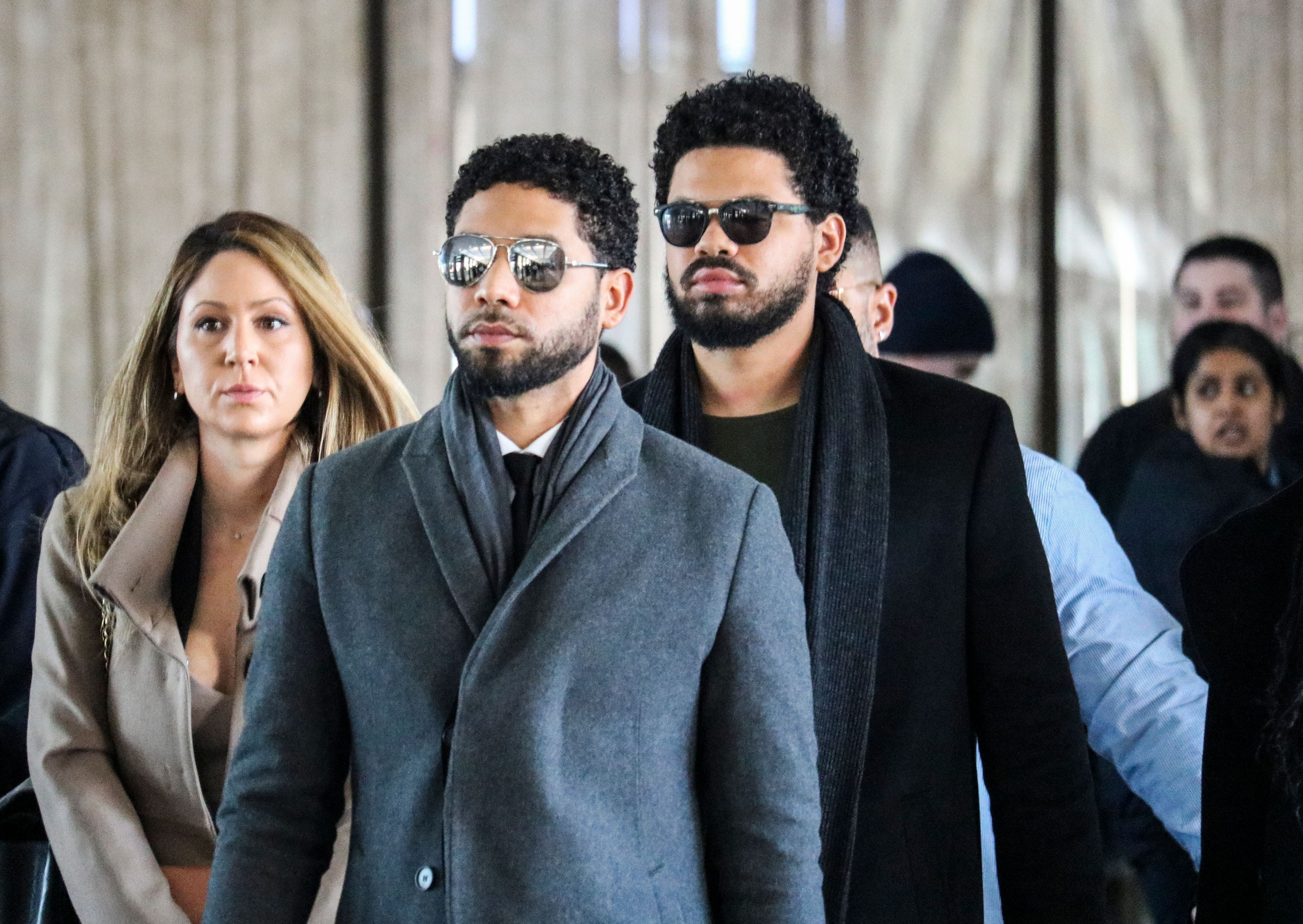 Jussie Smollett pleads not guilty to lying about attack 16 hrs