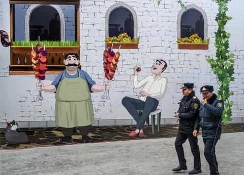 police in Baku