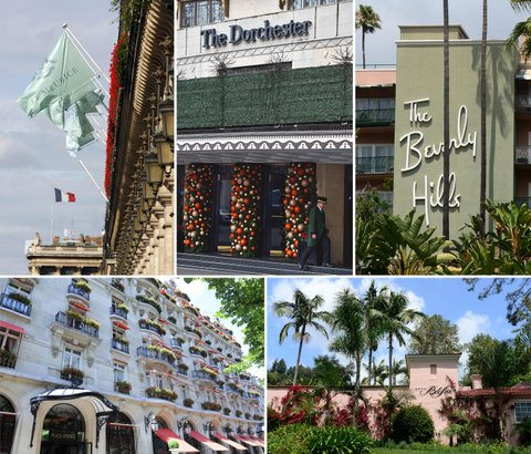 Sultan of Brunei owned hotels