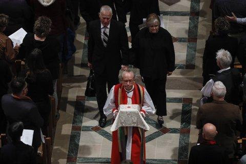 matthew shepard remains interred Washington National Cathedral