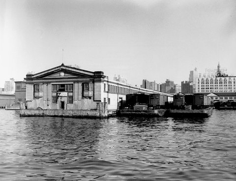 Unknown photographer, Pier 17, North River, 1951. Courtesy NYC Municipal Archives.
