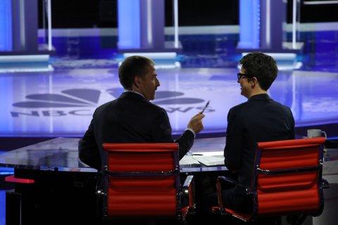Democratic debate night 2 moderators