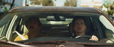 Alejandro Patiño and Matt Bomer in Papi Chulo.