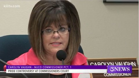 county commissioner carolyn vaughn