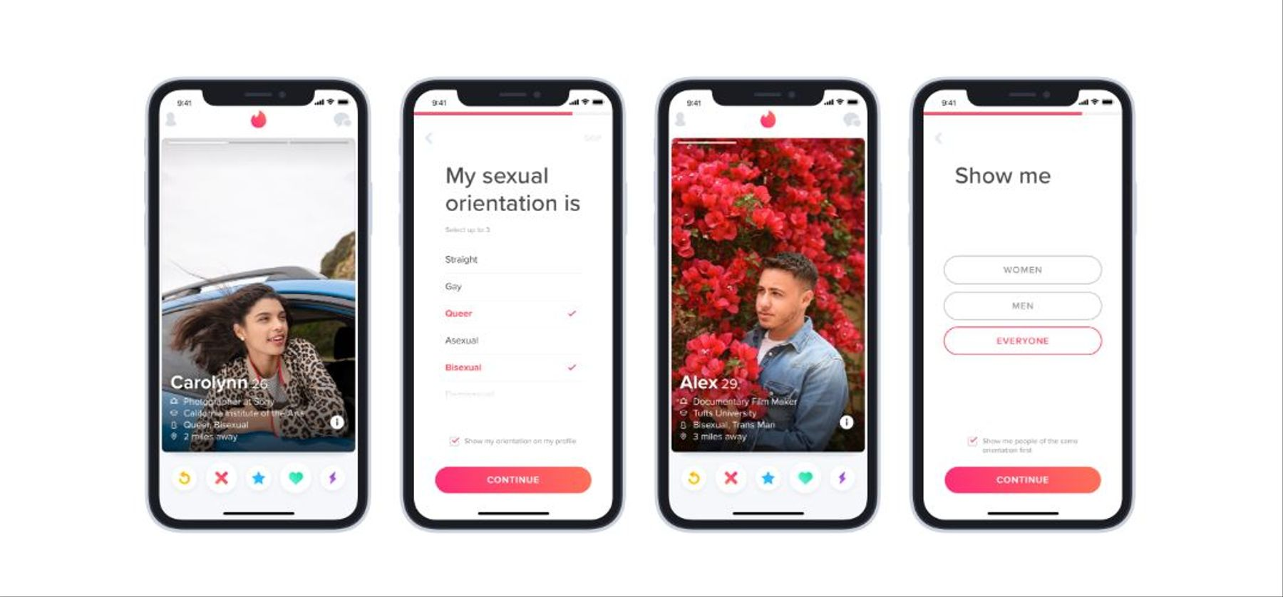 Tinder Introduces Sexual Orientation Option to Help LGBTQ