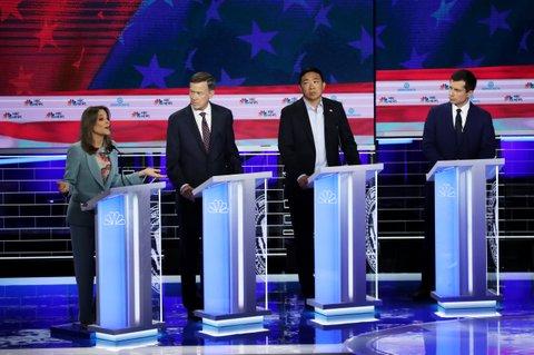 Marianne Williamson Democratic debate