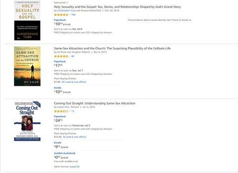 amazon conversion therapy books