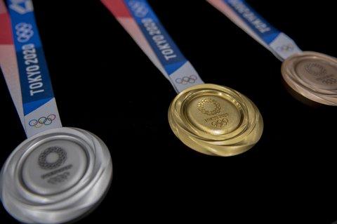 Tokyo Olympics medals