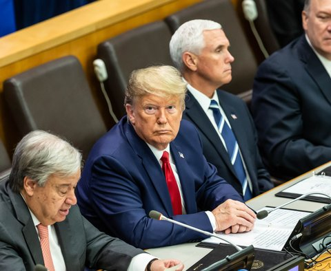 President Trump, Mike Pompeo, Mike Pence UN