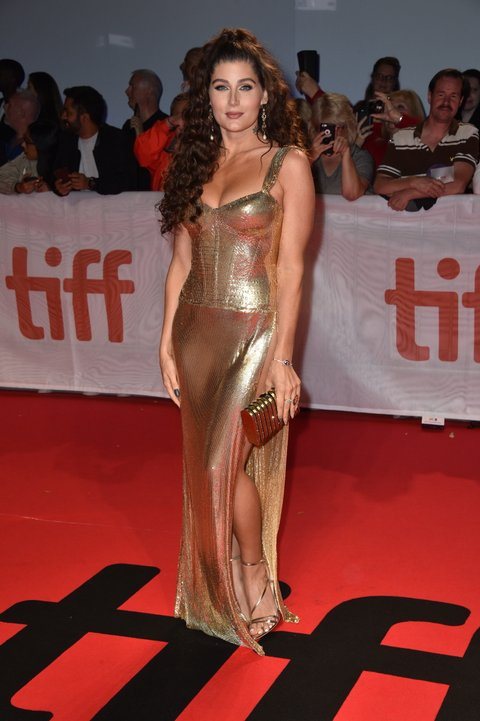 Trace Lysette attends the Worldwide Premiere of HUSTLERS during the 2019 Toronto International Film Festival at Roy Thomson Hall on September 07, 2019. Photo: Lionel Hahn