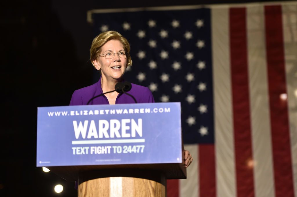 Warren: 'Marry one woman. Assuming you can find one'