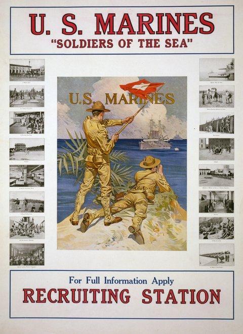 U.S. Marines Leyendecker
