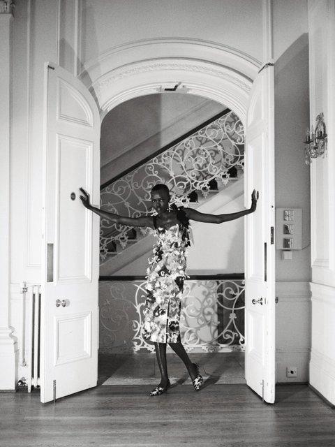 Grace Bol, photographed by Kuba Ryniewicz, Vogue Poland, April 2018