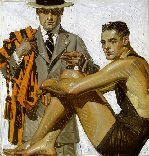 Leyendecker illustration