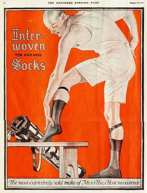 Leyendecker socks