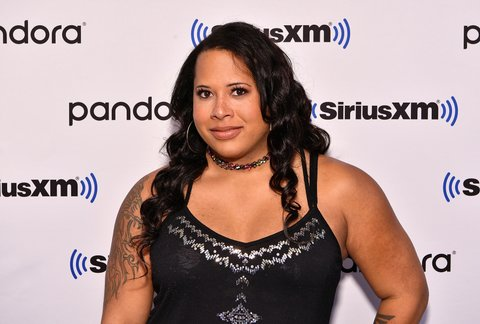 Professional wrestler and actress Nyla Rose visits SiriusXM Studios on October 4, 2019 in New York City.