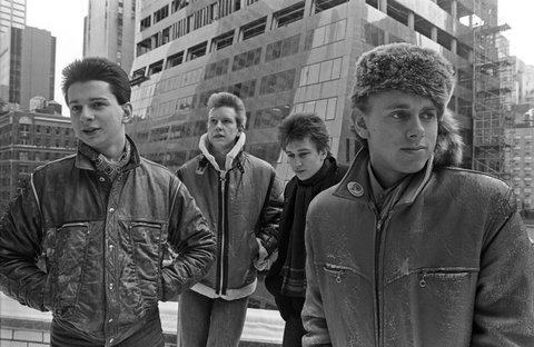 Depeche Mode: Dave Gahan, Andy Fletcher, Alan Wilder, and Martin Gore.