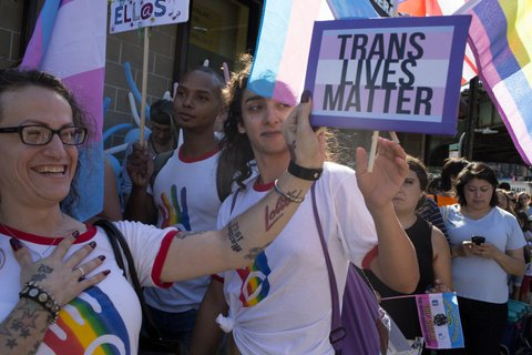 trans march