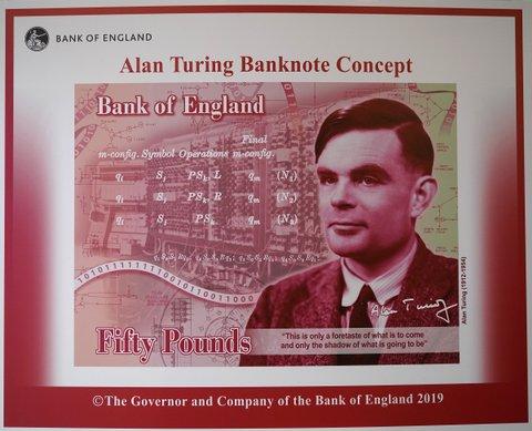 Alan Turing note