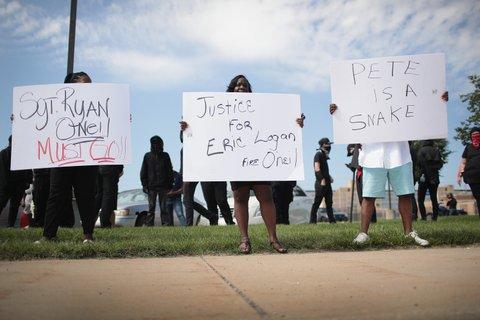Eric Logan protest