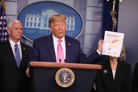 Mike Pence, Donald Trump coronavirus