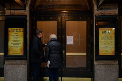 Broadway shows canceled
