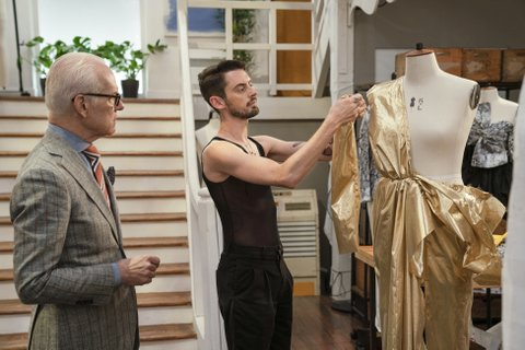 Tim Gunn and Will Riddle.